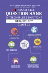 Oswaal CBSE CCE Question Bank Class 11 Open Text Based Assessment-OTBA Biology (March 2017 Exams)