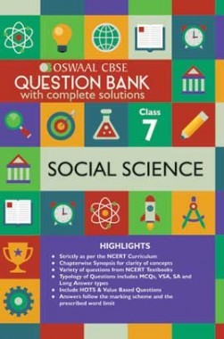 Oswaal CBSE Question Banks Social Sciecne For Class 7