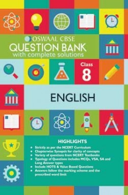 Oswaal CBSE Question Banks English For Class 8