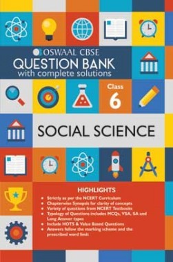 Oswaal CBSE Question Banks Social Science For Class 6