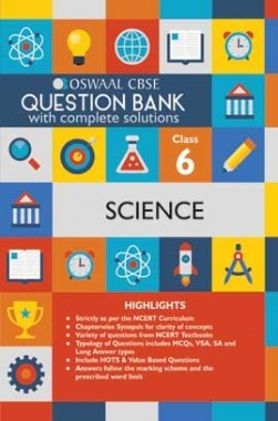 Oswaal CBSE Question Banks Science For Class 6