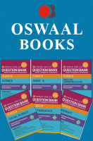 Oswaal CBSE CCE Question Banks with complete solutions, Hindi B, English Lang. & Literature, Science, Social Science, Maths & Sanskrit For Class 9 Term 1 (Set 9QB)