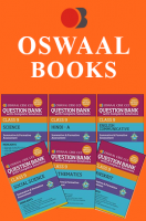 Oswaal CBSE CCE Question Banks with complete solutions, Hindi A, English Communicative, Science, Social Science, Maths & Sanskrit For Class 9 Term 1 (Set 9QC)