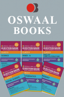 Oswaal CBSE CCE Question Banks with complete solutions, Hindi A, English Lang. & Literature, Science, Social Science, Maths & Sanskrit For Class 9 Term 1 (Set 9QD)