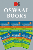 Oswaal CBSE CCE Question Banks with complete solutions, Hindi B, English Communicative, Science, Social Science, Maths & Sanskrit For Class 10 Term 1 (Set 10QA)