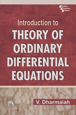 Introduction To Theory Of Ordinary Differential Equations