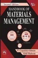 Handbook Of Materials Management