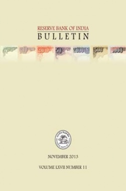 Reserve Bank of India Bulletin Nov 2013