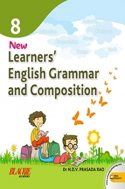 New Learner's English Grammar & Composition Book 8