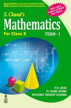 S.Chand'S Mathematics For Class X Term-I