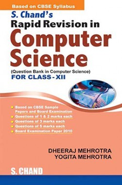 SChand's Rapid Revision In Computer Science for Class XII