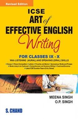 ICSE Art Of Effective English Writing Class IX And X