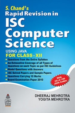 SChands Rapid Revision In ISC Computer Science for Class XII