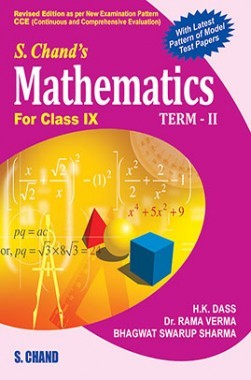 SChand'S Mathematics For Class IX Term II