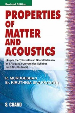 Properties Of Matter And Acoustic