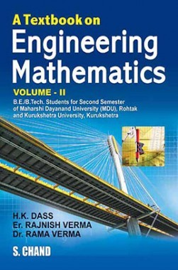 A Textbook Of Engineering Mathematics Vol-II