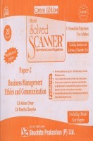 Solved Scanner Business Management Ethics and Communication CS Foundation Programme (New Syllabus) Paper-2