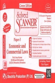 Solved Scanner CS Executive Programme Module-I New Syllabus Paper - 3 Economic and Commercial Laws (Jul-2015)