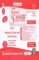 Model Solved Scanner CS Executive Programme Module-II New Syllabus Paper-7 Industrial, Labour and General Laws Green Edition (Jul-2015)