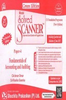 Model Solved Scanner CS Foundation Programme (New Syllabus) Paper-4 Fundamentals of Accounting and Auditing Green Edition (Jul-2015)
