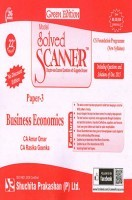 Model Solved Scanner CS Foundation Programme (New Syllabus) Paper-3 Business Economics Green Edition (Dec-2015)