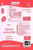 Model Solved Scanner CS Foundation Programme (New Syllabus) Paper-4 Fundamentals of Accounting and Auditing Green Edition (Dec-2015)