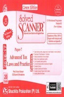 Solved Scanner CS Professional Programme Module-III New Syllabus Paper-7 Advanced Tax Laws and Practice Green Edition (Dec-2015)