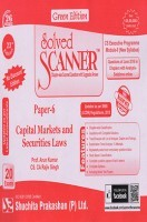 Solved Scanner CS Executive Programme Module-II New Syllabus Paper-6 Capital Markets and Securities Laws Green Edition (Jul-2016)
