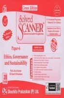 Solved Scanner CS Professional Programme Module-II New Syllabus Paper-6 Ethics, Governance and Sustainability Green Edition (Jul-2016)