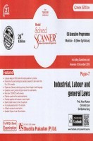 Model Solved Scanner CS Executive Programme Module-II New Syllabus Paper-7 Industrial, Labour and General Laws Green Edition (Dec-2016)