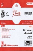 Solved Scanner CS Professional Programme Module-II New Syllabus Paper-6 Ethics, Governance and Sustainability Green Edition (Dec-2016)