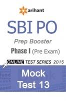 SBI Bank PO Mock Test 13