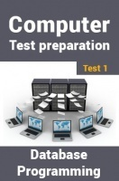 Computer Science Engineering Test Preparations On Database Programming Part 1
