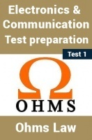 Electrical And Electronics Test Preparations On Ohm's Law Part 1