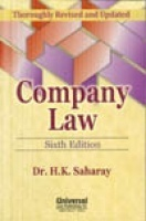 Company Law, 6th Ed