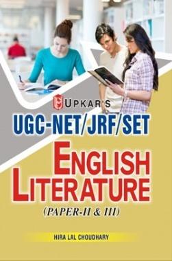 UGC-NET/JRF/SET English Literature (Paper II and III)