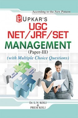 UGC NET/JRF/SET Management (Paper III) With Multiple Choice Questions