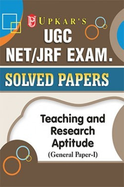 UGC NET/JRF Solved Papers Teaching And Research Aptitude (General Paper I)