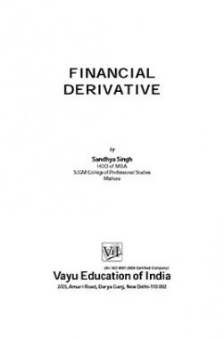 Financial Derivative By Sandhya Singh