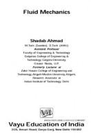 Fluid Mechanics By Shadab Ahmad