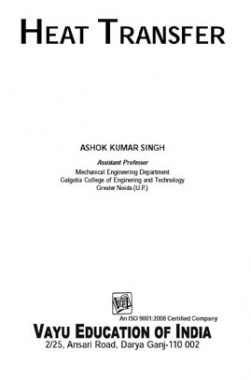Heat Transfer By Ashok Kumar Singh