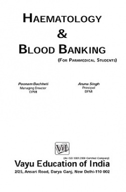 Haematology and Blood Banking By Poonam Bachheti, Aruna Singh