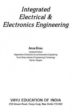 Integrated Electrical & Electronics Engineering By Arun Rana