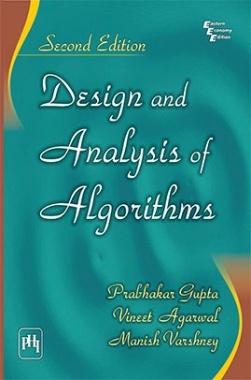 design and analysis of algorithms by gupta et al