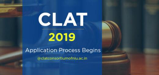 CLAT 2019 Application Process