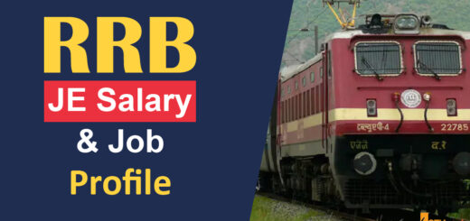 RRB JE Salary and Job Profile