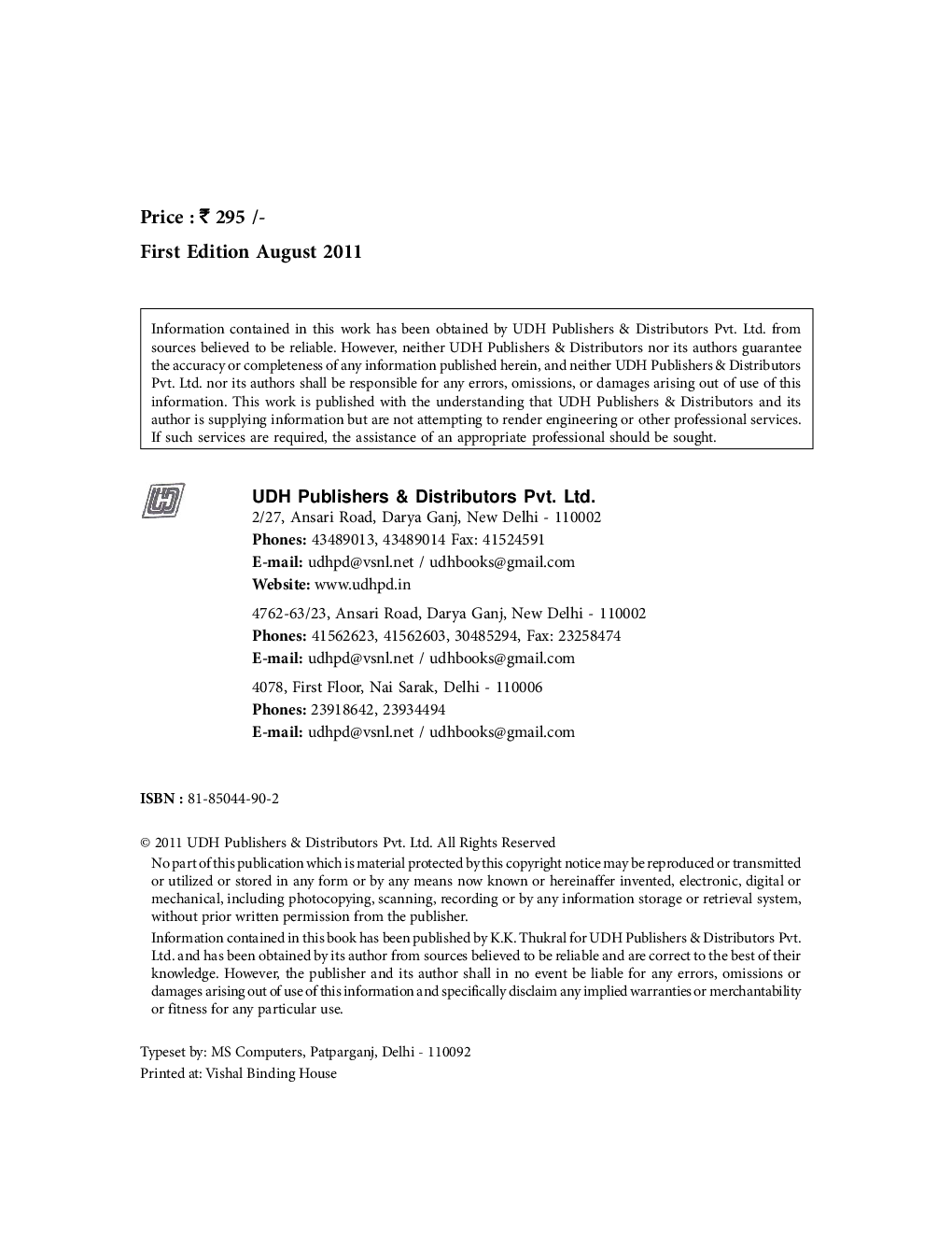 Digital Electronics, Theory with Experiments eBook - Page 3