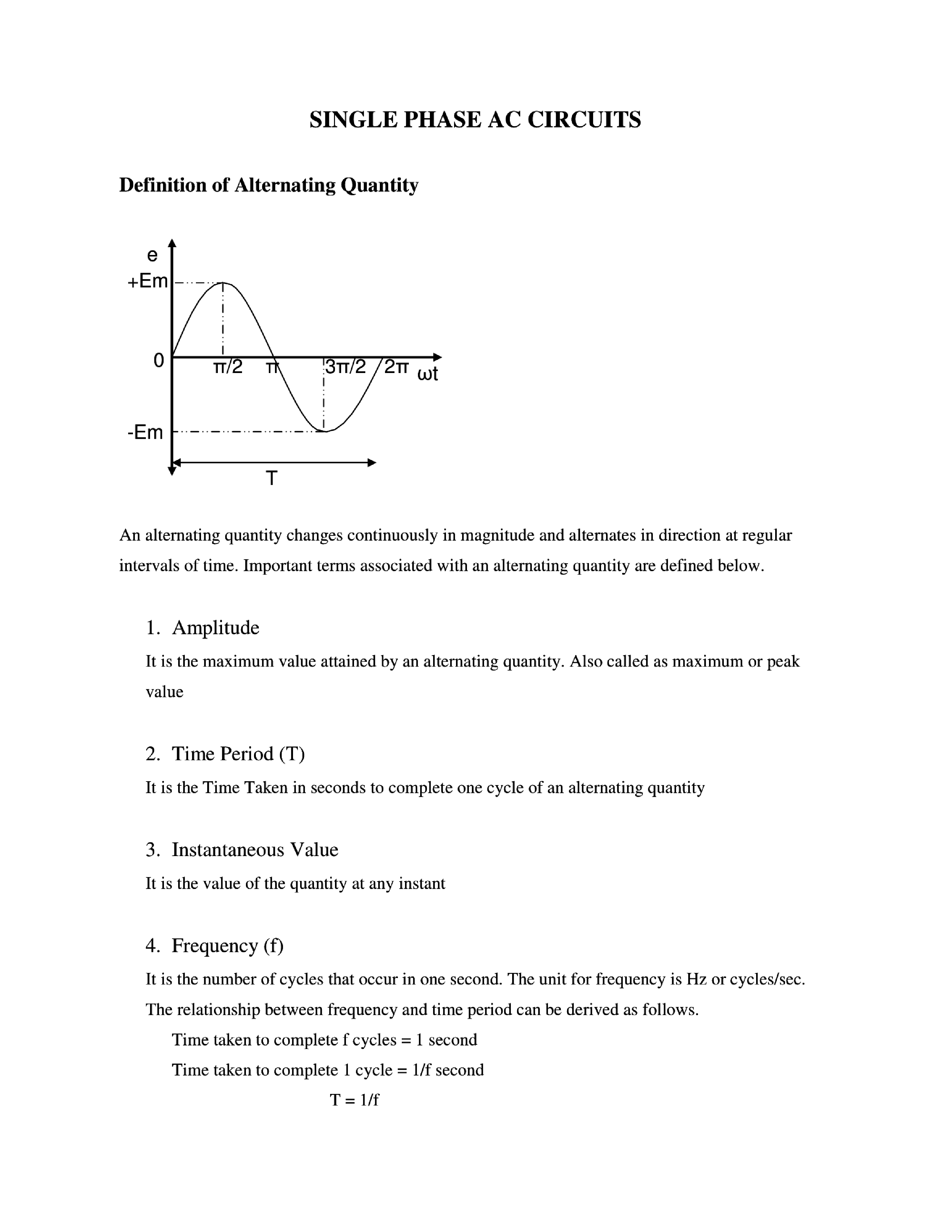 Download Basic Electrical Engineering Notes eBook by PDF Online