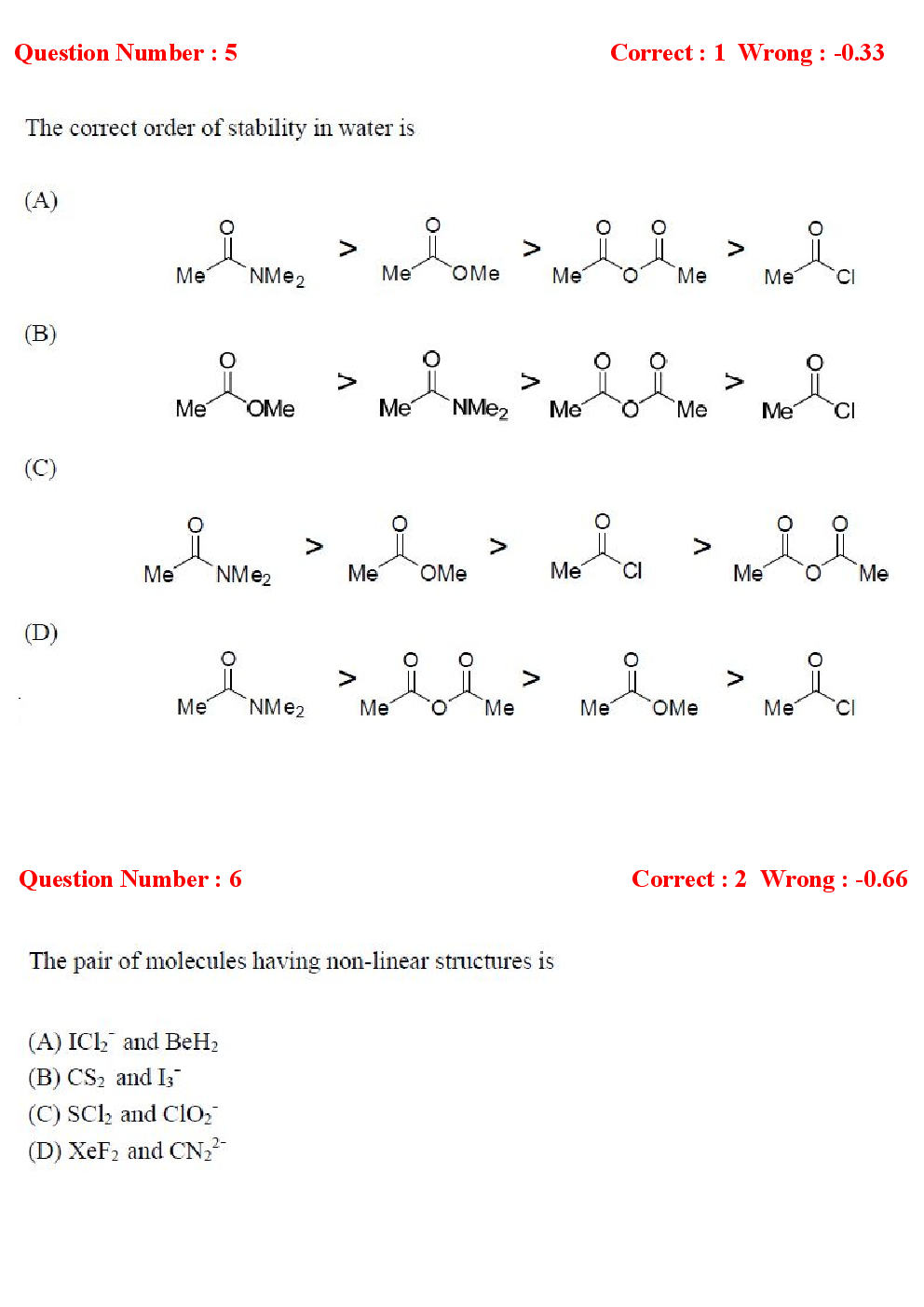 Download Gate Life Sciences Previous Year Question Papers