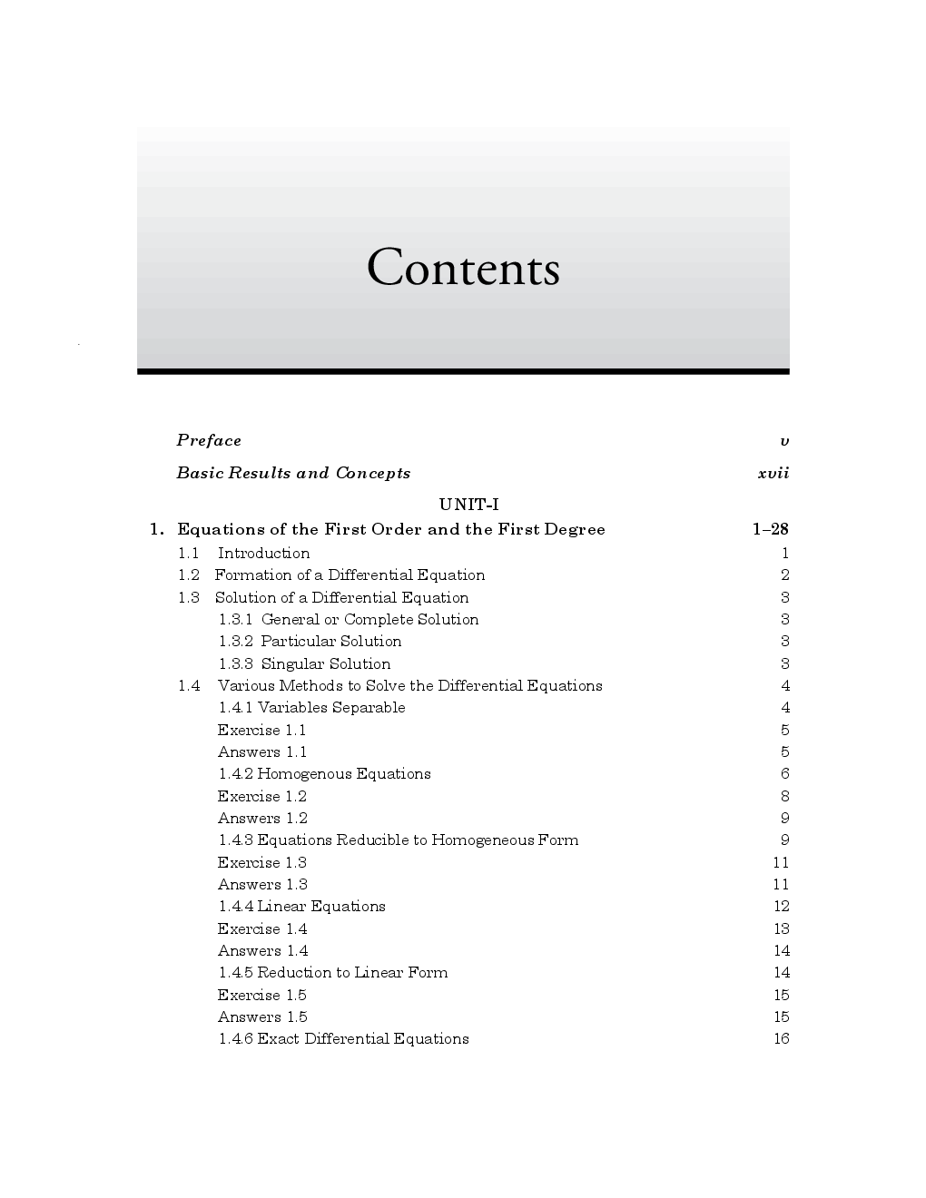 A Textbook of Engineering Mathematics-II - Page 5